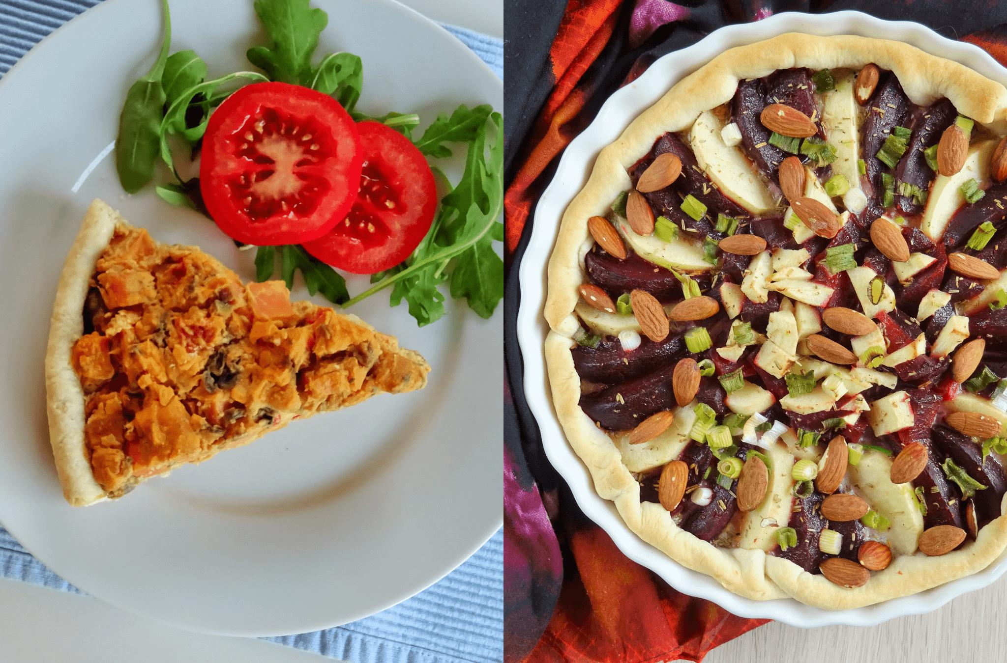Hoe maak je de perfecte vegan quiche?