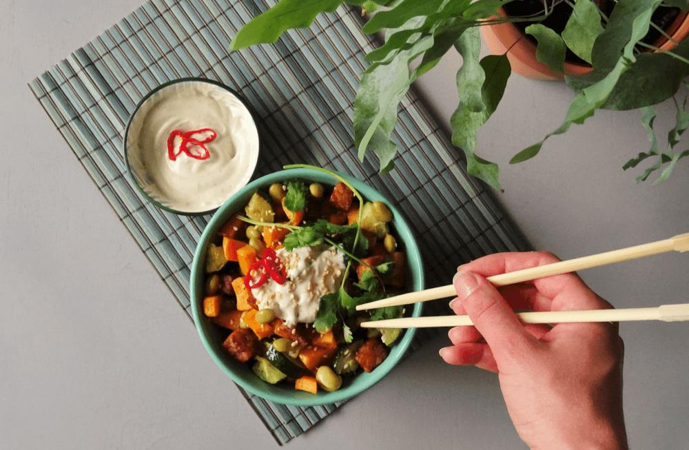 Recept vegan Boeddha Bowl